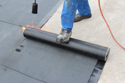 Residential and commercial flat roofs in NC